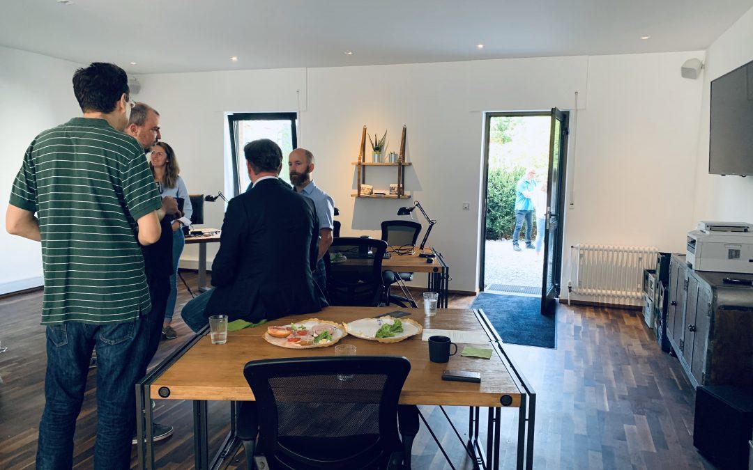 Die Gemeinschaft zählt – Gründerzentrum und Coworking beim Networken